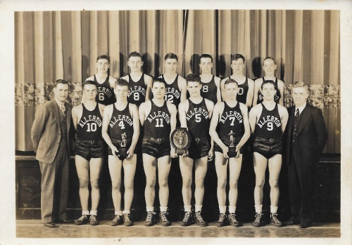 Allerton H.S. 1938 District Champions