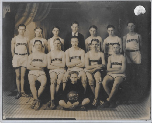 Edwardsville H.S. Team 1924 25