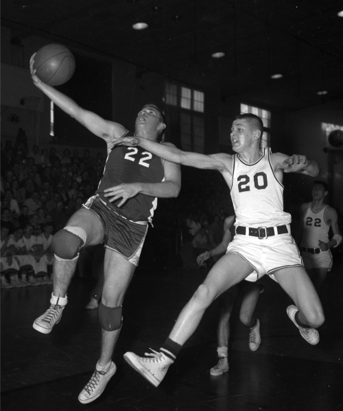 mclean county basketball tourney january 1959